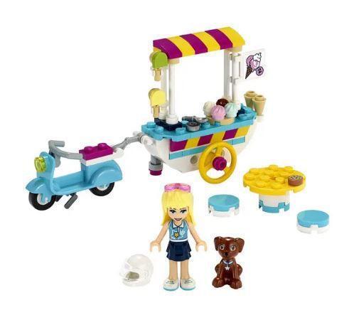Imagem de Lego Friends Carrinho De Sorvetes da Stephanie 41389