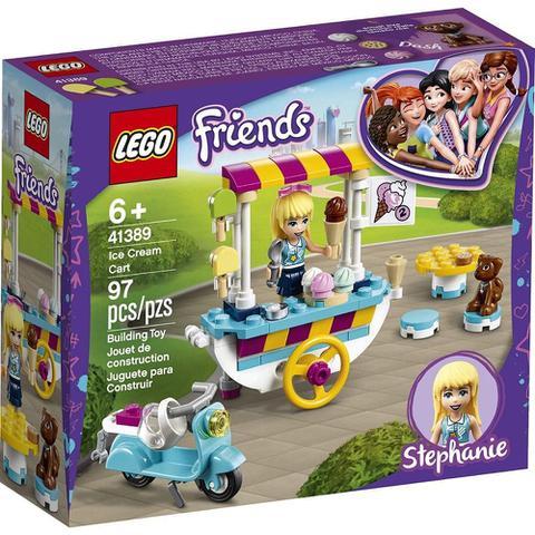 Imagem de LEGO Friends - Carrinho de Sorvetes - Stephanie - 41389