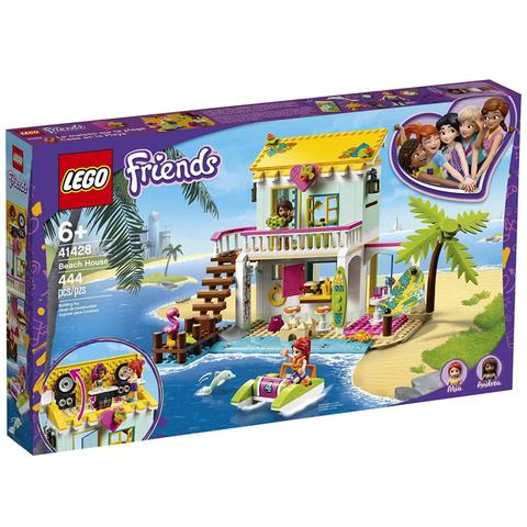 Imagem de Lego Friends Casa Da Praia 444 Peças 41428