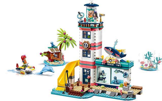 Imagem de LEGO Friends - Centro de Resgate do Farol - 41380