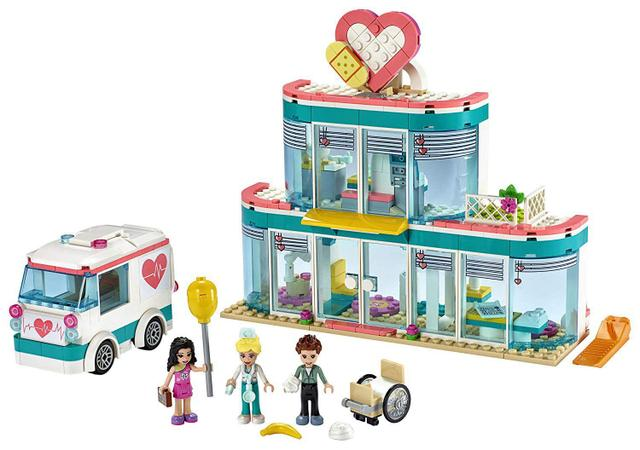 Imagem de LEGO Friends - Hospital De Heartlake City - LEGO 41394