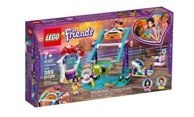 Imagem de Lego Friends Looping Subaquático 389 Peças 41337