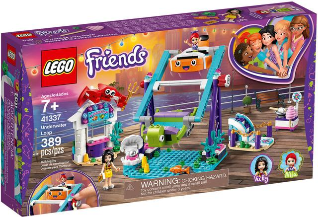 Imagem de LEGO Friends - Looping Subaquático - 41337