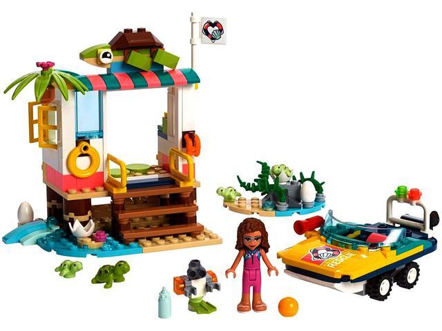 Imagem de LEGO Friends Missão de Resgate de Tartarugas