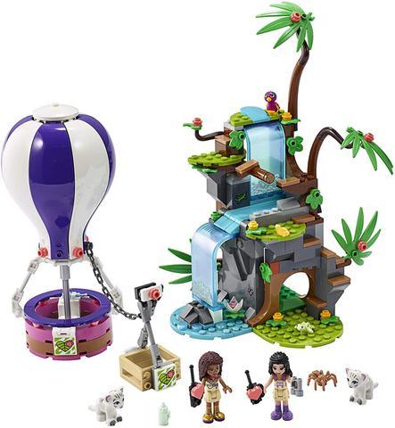 Imagem de Lego Friends - O Balão de Ar Quente na Selva - 41423