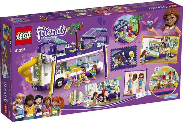 Imagem de Lego Friends - Onibus Da Amizade Com 778 Peças - 41395