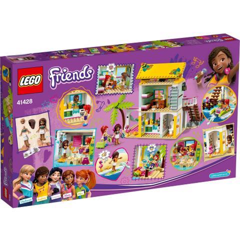 Imagem de Lego Friends Playset A Casa de Praia com 444 Peças 41428