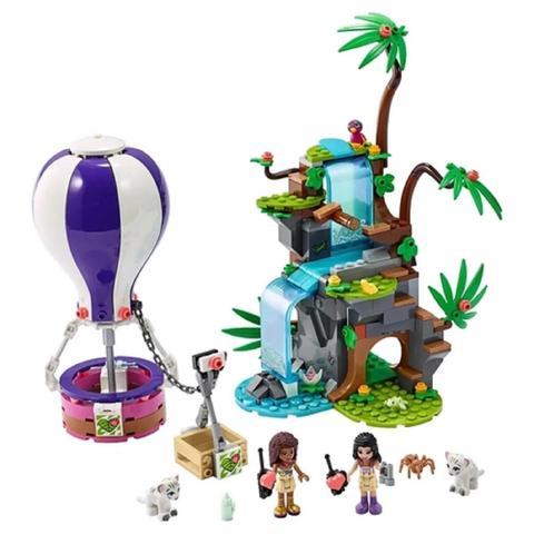 Imagem de LEGO Friends Resgate do Tigre na Selva com Balão 41423