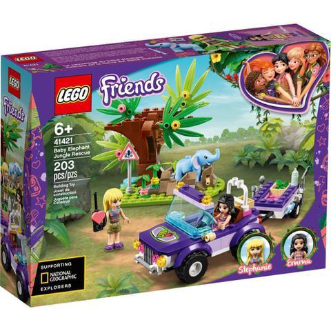 Imagem de LEGO Friends - Resgate na Selva do Filhote de Elefante - 41421