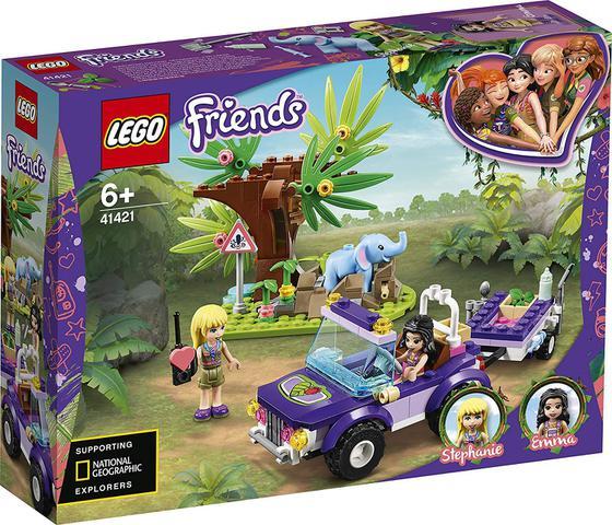 Imagem de Lego friends resgate na selva do filhote de elefante 41421