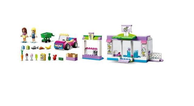 Imagem de Lego Friends Supermercado de Heartlake City 41362
