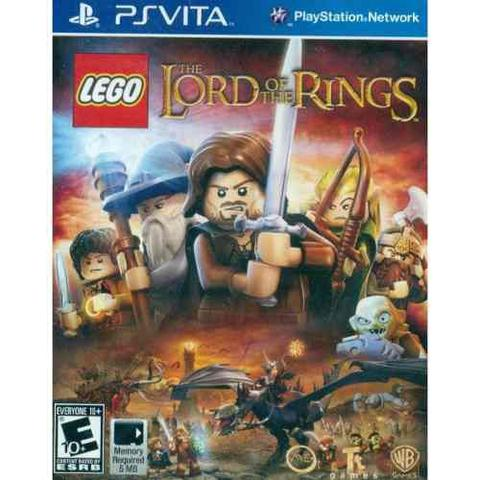 Jogo Lego The Lord Of The Rings - Ps Vita - Warner Bros Interactive Entertainment