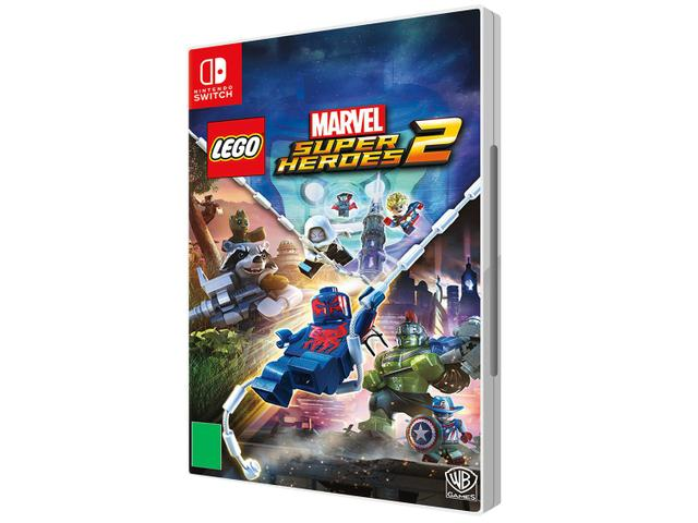 Jogo Lego Marvel Super Heroes 2 - Switch - Warner Bros Interactive Entertainment