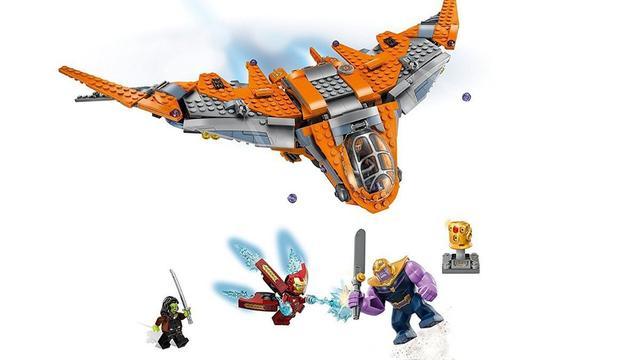 Imagem de LEGO Marvel Super Heroes Thanos A Batalha Final
