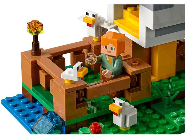 Imagem de LEGO Minecraft O Galinheiro 198 Peças