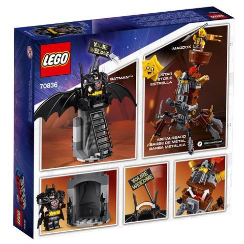 Imagem de LEGO Movie - O Filme 2 - DC Comics - Batman Vs Barba de Ferro - 70836
