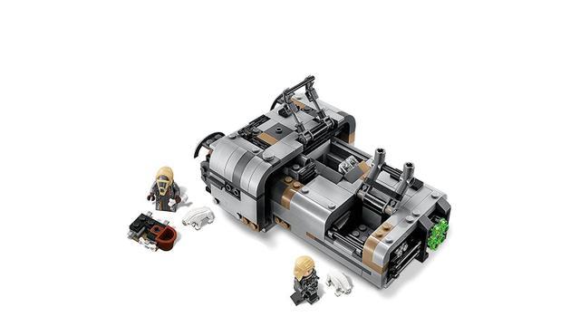 Lego Star Wars O Landspeeder de Moloch