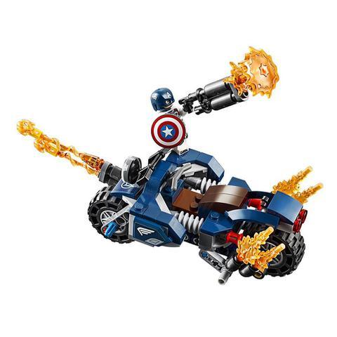 Imagem de Lego Super Heroes Marvel - Capitão América: Ataque Outriders - Lego