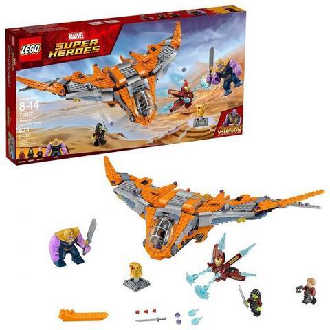 Imagem de LEGO Super Heroes Marvel -Vingadores-Guerra Infinita-Thanos