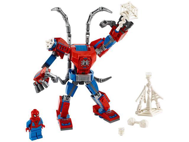 Imagem de LEGO Super Heros Robô Homem Aranha 152 Peças