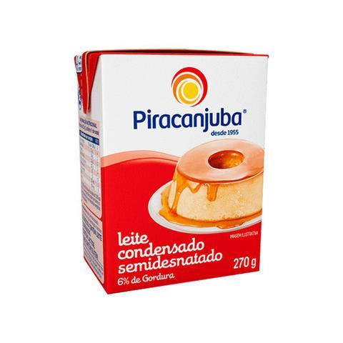 Imagem de Leite Condensado Piracanjuba Semidesnatado 6% Gordura 270g
