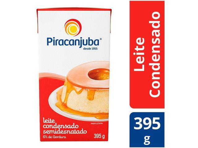 Imagem de Leite Condensado Semidesnatado 395g - Piracanjuba