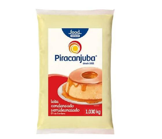 Imagem de Leite Condensado Semidesnatado Bag Piracanjuba 1,030 Kg