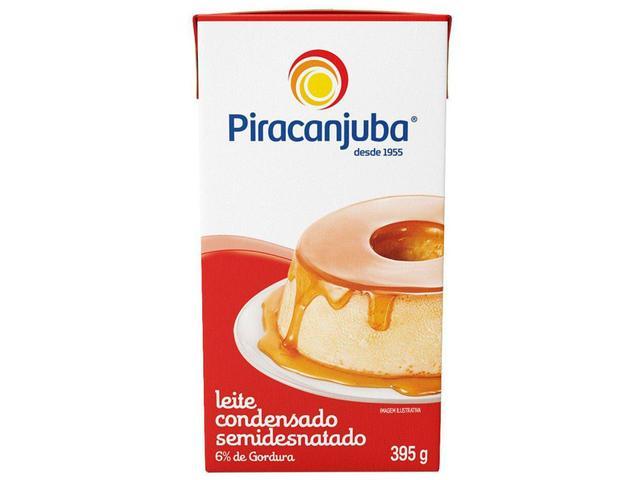 Imagem de Leite Condensado Semidesnatado Piracanjuba 395g
