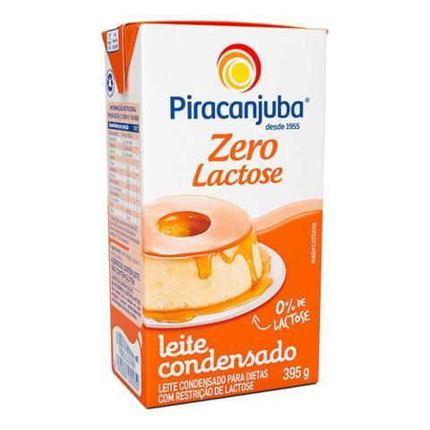 Imagem de Leite Condensado Zero Lactose 395g - Piracanjuba