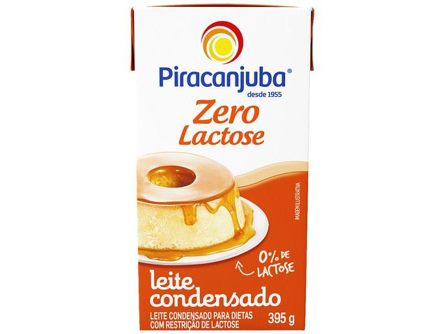 Imagem de Leite Condensado Zero Lactose Piracanjuba 395g