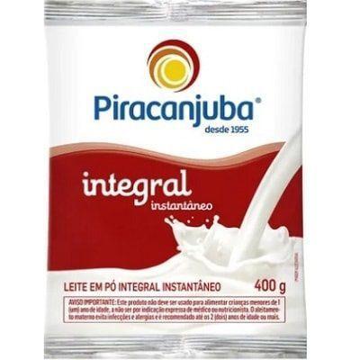 Imagem de Leite em Po Integral Instantaneo 400g Piracanjuba