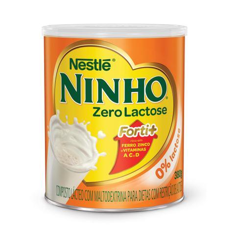 Imagem de Leite em Pó Ninho Forti+ Zero Lactose Lata 380g
