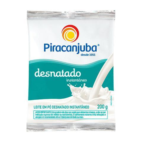 Imagem de Leite Em Pó Piracanjuba Desnatado Instantâneo 200g