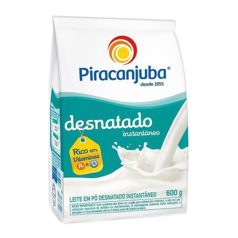 Imagem de Leite em Pó Piracanjuba Desnatado Sachê 600g