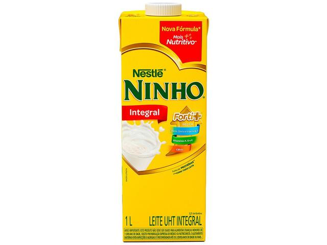 Imagem de Leite Integral UHT Ninho 1L