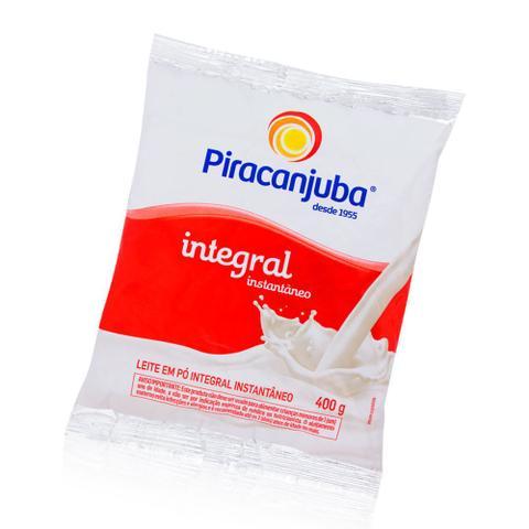 Imagem de Leite Pó Piracanjuba Integral Instantâneo Fonte Cálcio 400g