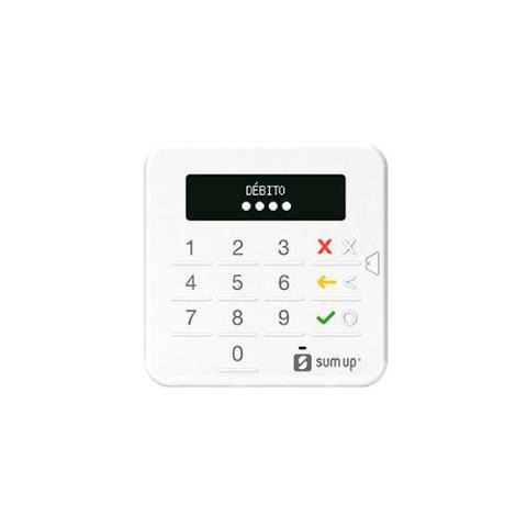 Imagem de Leitor de cartão de crédito e débito com chip  - top  sumup