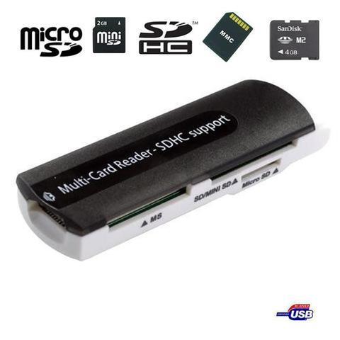 Imagem de Leitor de Cartão Multi-Card Reader SDHC Support USB 2.0/1.1