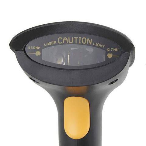 Imagem de Leitor de Codigo de Barras com Scanner Wifi sem Fio Laser com Suporte