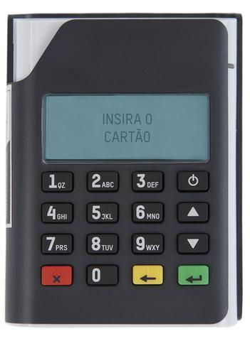 Imagem de Leitor Mobi PIN 10 - Máquina de cartão - PINpad sem fio Bluetooth USB Gertec