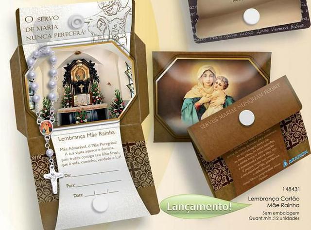 Imagem de Lembrança cartão mãe rainha