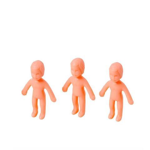 Imagem de Lembrancinha Brinquedo Mini Boneco Pelado 10 unidades