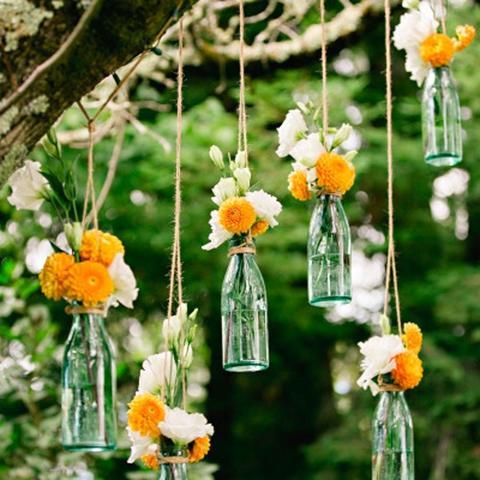 Imagem de Lembrancinha Garrafa de Vidro Coquinho Tampa de Cortiça