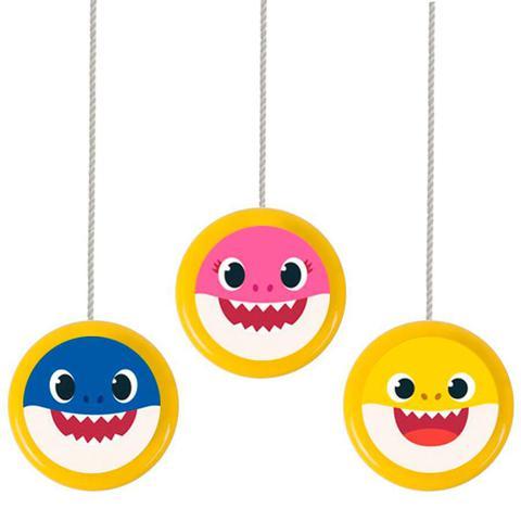 Imagem de Lembrancinha Ioiô Colorido Festa Baby Shark 06 unidades