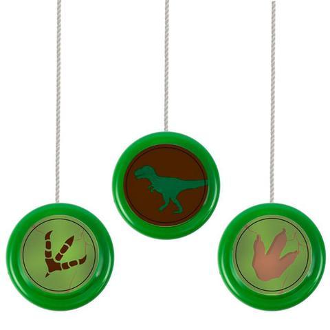 Imagem de Lembrancinha Ioiô Colorido Mundo dos Dinossauros 6 unidades