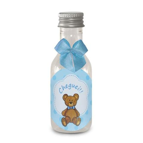Imagem de Lembrancinha Mini Garrafa Maternidade Urso Azul