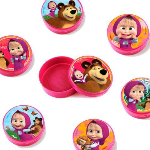 Imagem de Lembrancinha Mini Latinha Masha e o Urso  10 unidades