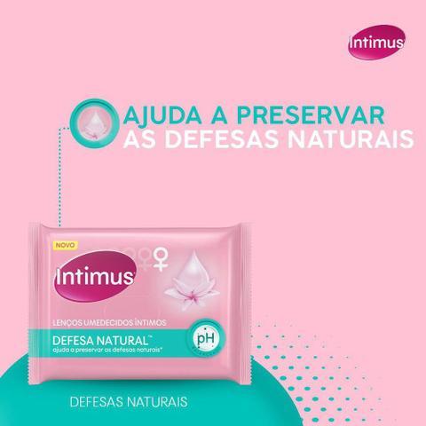 Imagem de Lenço Umedecido Íntimo Intimus Defesa Natural 16 Unidades