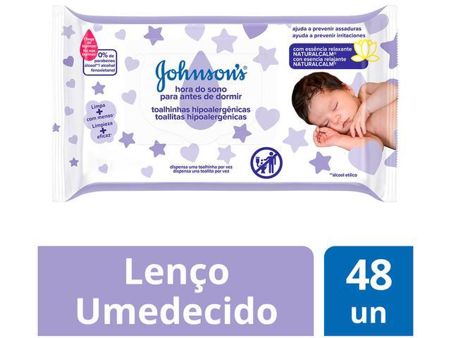 Imagem de Lenço Umedecido Johnsons Baby Hora do Sono