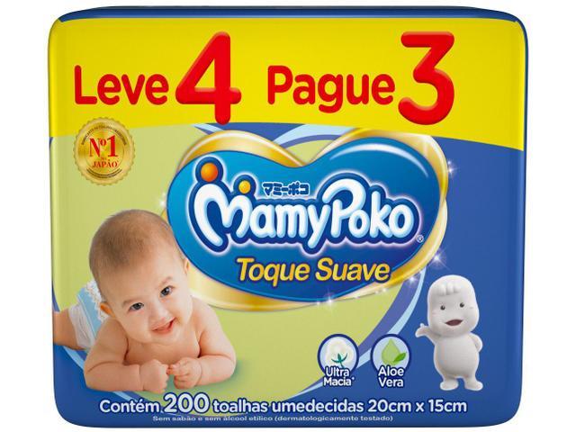 Imagem de Lenço Umedecido MamyPoko Toque Suave